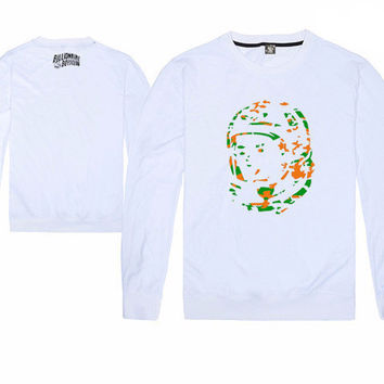 Billionaire Boys Club Front Panel Camouflage Spaceman Long Sleeve Shirts
