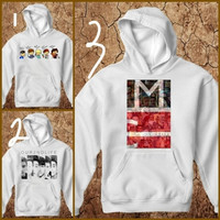 123cloth awesome boy band hoodie for unisex adult