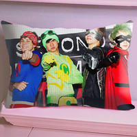 5SOS The Heroes - Cushion Cover - Size 20 x 30 inch - 1 Side / 2 Side