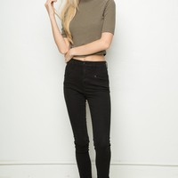 CECIL TURTLENECK TOP