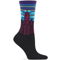 Hot Sox Women's City Scape Sock