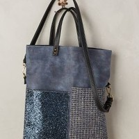 Kassiopea Shimmered Medley Tote in Blue Size: One Size Bags