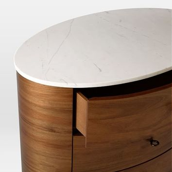 Penelope 3-Drawer Nightstand
