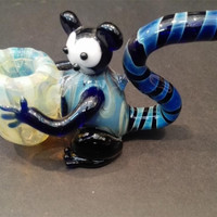Glass water pipes Creative imitation animal glass bong