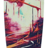 Landyachtz Bamboo Pinner Red Road Complete Longboard 9.5x44/32wb