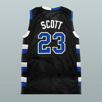 Nathan Scott 23 One Tree Hill Ravens Black Basketball Jersey