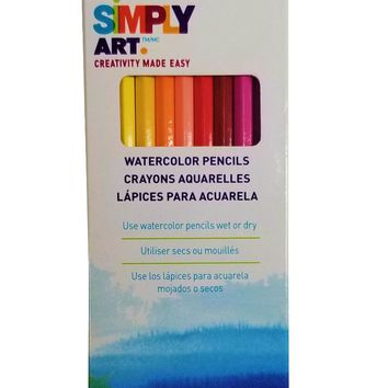 Smiply Art Watercolor Pencils - CASE OF 96