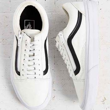 Vans Leather Old School Zip Sneaker