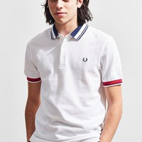Fred Perry Contrast Collar Pique Polo Shirt | Urban Outfitters