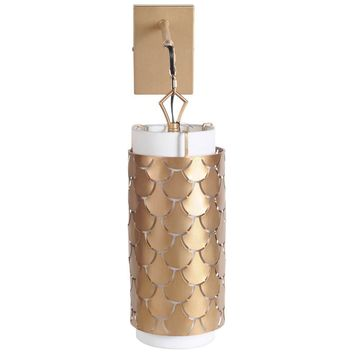 Brasseur Wall Sconce ~ Gold