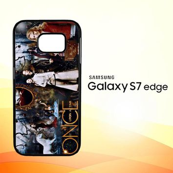 Once Upon A Time Wallpaper Y0852 Samsung Galaxy S7 Edge Custom Case