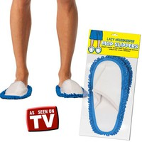 Lazy Housekeepers Mop Slippers