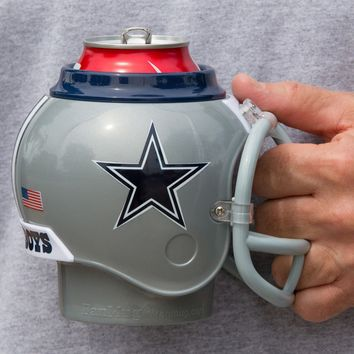 Dallas Cowboys All in One Helmet Can & Bottle Cooler, Mug and Desk Caddy