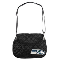Seattle Seahawks NFL Quilted Saddlebag