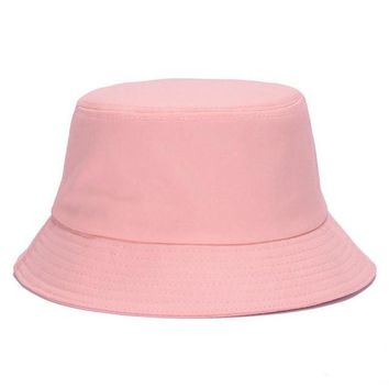 Hot Sale! 7 Solid Colors Bucket Style Hats for Women
