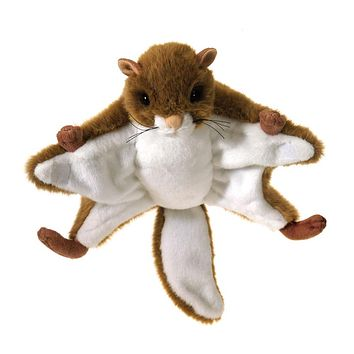 9 Inch Stuffed Flying Squirrel Plush Animal North American Forest Collection