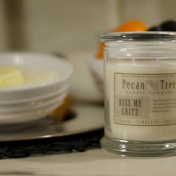 Kiss My Gritz Soy Candle from Pecan Tree Candle Company