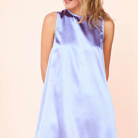 Kimchi Blue Carmine Satin Frock Mini Dress - Urban Outfitters