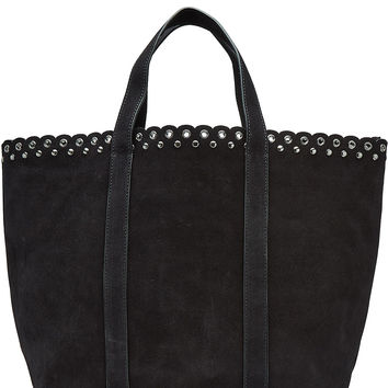 Vanessa Bruno - Suede Tote with Eyelets