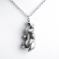 Le Real Velveteen Rabbit Totem Necklace by leanimale on Etsy