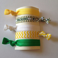 Green Bay Packers Hair Tie Set