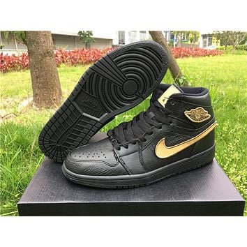 Air Jordan 1 Retro Black Cat Basketball Shoes 40-47