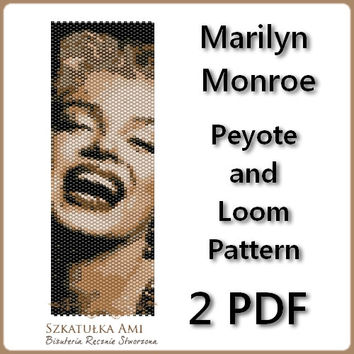 Marilyn Monroe Peyote or Loom Bracelets 2 PDF