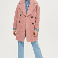 Boucle Textured Coat