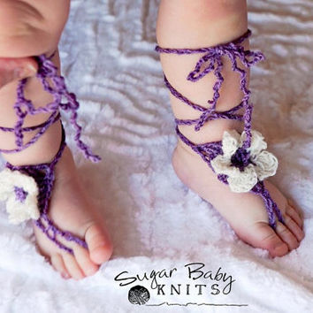 Baby Barefoot Sandals - Custom Order Size & Color