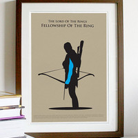 The Lord of the Rings Legolas - Poster A3 Print