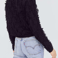 Kimchi Blue Fringe Pullover Sweater | Urban Outfitters