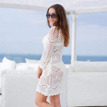 Layla In Lace Beach Dress