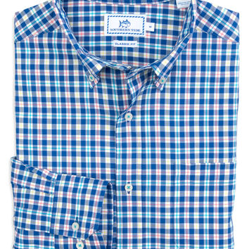 Southern Tide - High Water Plaid Sport Shirt
