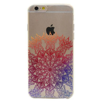Original Lace Floral iPhone 5s 6 6s Plus Case Cover + Free Gift Box