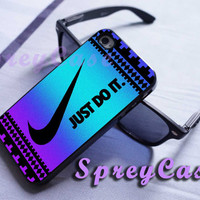 colorful aztec nike just do it case iphone 4/4s case, iphone 5 case, iphone 5s case, iphone 5c case, samsung galaxy s3/s4/s5 case