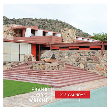 Frank Lloyd Wright 2016 Wall Calendar