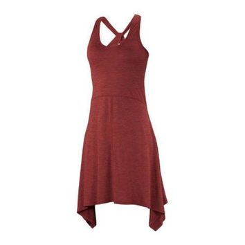 Women's Ibex Carmen Dress Cayenne Heather | Overstock.com Shopping - The Best Deals on Casual Dresses