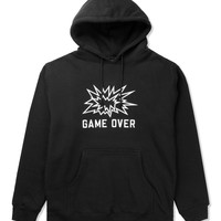 SSUR Black SSUR Game Over Pullover Hoodie | HYPEBEAST Store. Shop Online for Men's Fashion, Streetwear, Sneakers, Accessories
