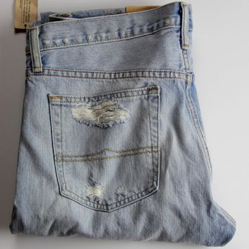 DENIM SUPPLY RALPH LAUREN BOYFRIEND JEANS, KENDRICK WASH KENDRICK