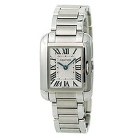 Cartier Tank Anglaise Quartz Female Watch W5310022 (Certified Pre-Owned)
