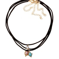 Streetstyle  Casual Bohemian Layered Necklace