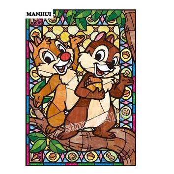 5D Diamond Painting Disney Chip and Dale Kit