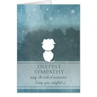 Dog Sympathy Teal Cherished Memories Bring Comfort Card