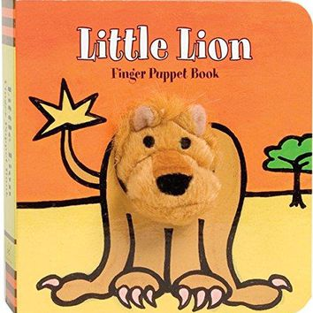 Little Lion Finger Puppet Book (Finger Puppet Books)