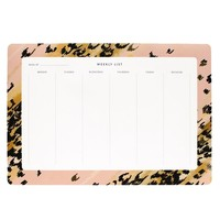 Catbird :: shop by category :: HOME & GIFTS :: Leopard Weekly Desk Pad