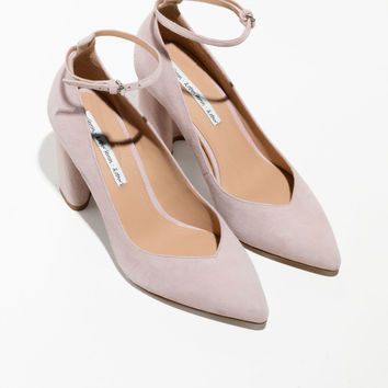 Ankle Strap Pumps - Pink - Pumps - & Other Stories