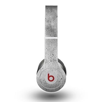 The Concrete Grunge Texture Skin for the Beats by Dre Original Solo-Solo HD Headphones
