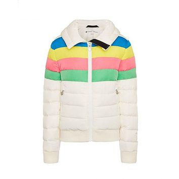 Perfect Moment - Kids' Padded Queenie Snow White Rainbow Jacket
