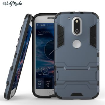 Capa For Moto G4 Plus Case Soft Silicon & Plastic Case For Motorola Moto G4 G4 Plus G 4rd Gen Cover Mobile Phone Funda ><
