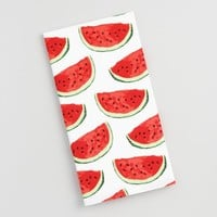 Watermelon Print Kitchen Towel
